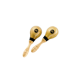 MEINL Percussion MSM2 Rawhide Mini Maracas, Natural