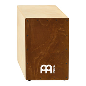 MEINL Percussion SCAJ100NT-LB Headliner Series Snare Cajon, Almond Birch