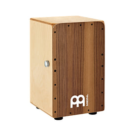 MEINL Percussion SCP100WN Snarecraft Professional Cajon, Walnut Frontplate
