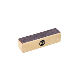 MEINL Percussion SH15-M Wood Shaker, Medium, Black Makah-Burl