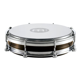 MEINL Percussion TBR06ABS-BK 6inch Floatune Tamborim, ABS Shell, Black
