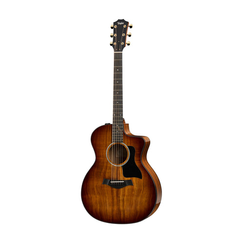 Taylor 224ce-K All-Koa Deluxe Grand Auditorium Acoustic Guitar w/Case