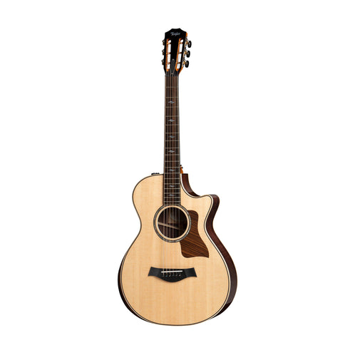 Taylor 812ce Deluxe Grand Concert Acoustic Guitar w/Case, Natural