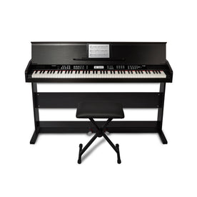Alesis Virtue 88-Key Digital Piano with Wood Stand and Bench