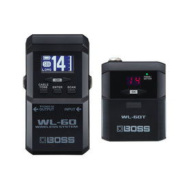 BOSS WL-60 Guitar Wireless System (NON L Version)