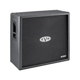 EVH 5150 III 4x12 Straight Guitar Amplifier Extension Cabinet, Black