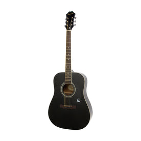 Epiphone DR-100 Acoustic Guitar, RW FB, Ebony
