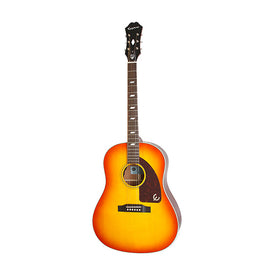 Epiphone Inspired by 1964 Texan Acoustic Guitar, Vintage Cherry