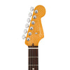 Fender American Ultra HSS Stratocaster Electric Guitar, RW FB, Aged Natural