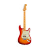 Fender American Ultra HSS Stratocaster Electric Guitar, Maple FB, Plasma Red Burst