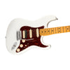 Fender American Ultra HSS Stratocaster Electric Guitar, Maple FB, Arctic Pearl