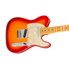 Fender American Ultra Telecaster Electric Guitar, Maple FB, Plasma Red Burst
