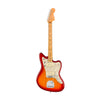 Fender American Ultra Jazzmaster Guitar, Maple FB, Plasma Red Burst