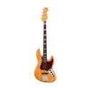 Fender American Ultra Jazz Bass Guitar, RW FB, Aged Natural