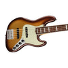 Fender American Ultra 5-String Jazz Bass Guitar, RW FB, Mocha Burst