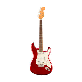 Squier Classic Vibe 60s Stratocaster Electric Guitar, Laurel FB, Candy Apple Red