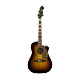 Fender Kingman ASCE Dreadnought Acoustic Guitar w/Case, 3-Color Sunburst