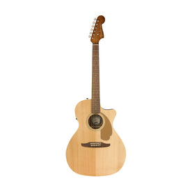 Fender California Newporter Player Medium-Sized Acoustic Guitar, Natural