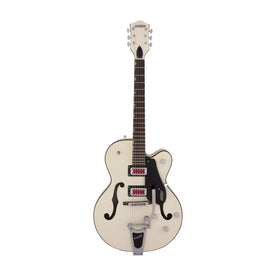 Gretsch G5410T Electromatic Rat Rod Hollow Body Single-Cut Guitar w/Bigsby, Matte Vintage White