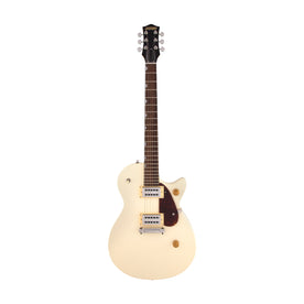 Gretsch G2210 Streamliner Junior Jet Club Electric Guitar, Laurel FB, Vintage White