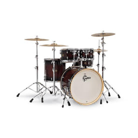 Gretsch CM1-E825-DCB Catalina Maple 5-Piece Drum Shell Kit (22inch Bass), Dark Cherry Burst