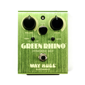 Way Huge WHE202 Green Rhino Overdrive Guitar Effects Pedal