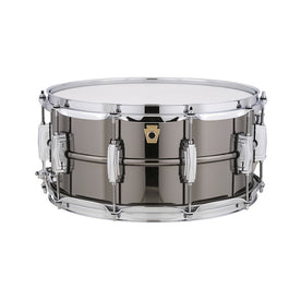 Ludwig LB417 6.5x14inch Black Beauty Snare Drum, Smooth Shell, Imperial Lugs