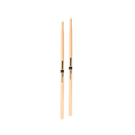 Promark TX707N Hickory 707N Simon Phillips Drumsticks, Nylon Tip