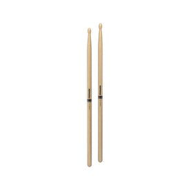 Promark TX747W Hickory 747 Rock Drumsticks, Wood Tip