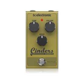 TC Electronic Cinders Overdrive Guitar Effects Pedal
