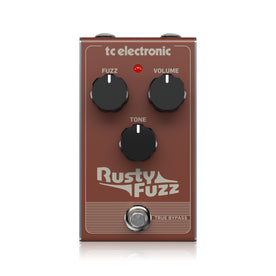 TC Electronic Rusty Fuzz Guitar Effects Pedal