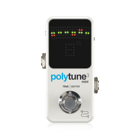 TC Electronic Polytune 3 Mini Guitar Effects Pedal