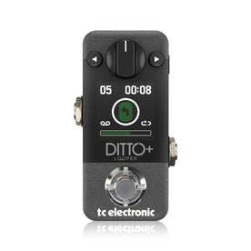 TC Electronic Ditto+ Looper Highly Intuitive Looper Guitar Pedal