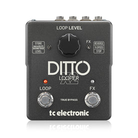 TC Electronic Ditto X2 Looper Guitar Effects Pedal (T33-960804001)