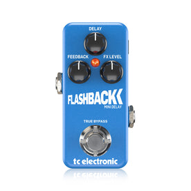 TC Electronic Flashback Mini Delay Guitar Effects Pedal