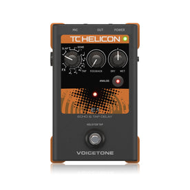 TC-Helicon VoiceTone E1 Echo and Tap Delay Vocal Effects Pedal (996011005)