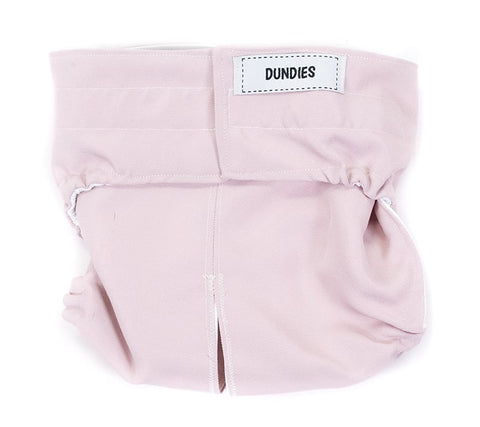 Dundies Dusty Pink - All In One Nappy
