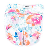 40% OFF Dundies Watercolour Flower - All In One Nappy