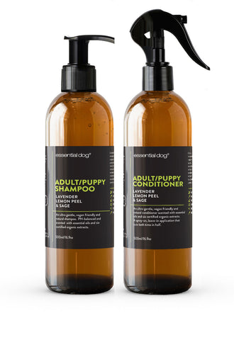 Adult/Puppy Shampoo & Conditioner Pack