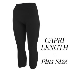 Plus Size Capri Leggings
