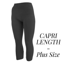 Load image into Gallery viewer, Plus Size Capri Leggings