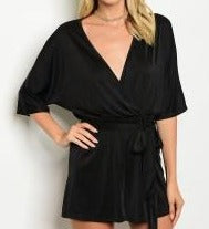 Load image into Gallery viewer, Black Romper