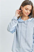 Load image into Gallery viewer, Grey and Light Blue Sweatshirt