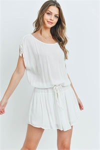 Off White Cover Up Dress