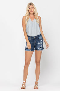 Judy Blue Distressed Jean Shorts