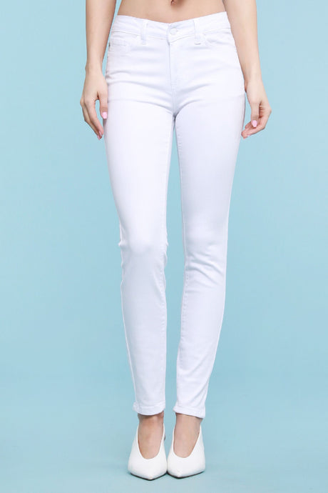 White Judy Blue Jeans