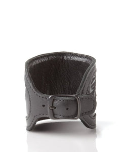 Leather Cuff - Licorice
