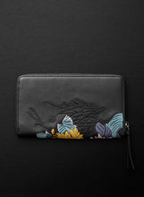 Lotus XL Zipped Wallet - Licorice