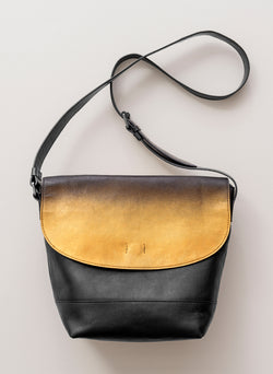 Gold Kissed Messenger Bag - Belinda Pieris