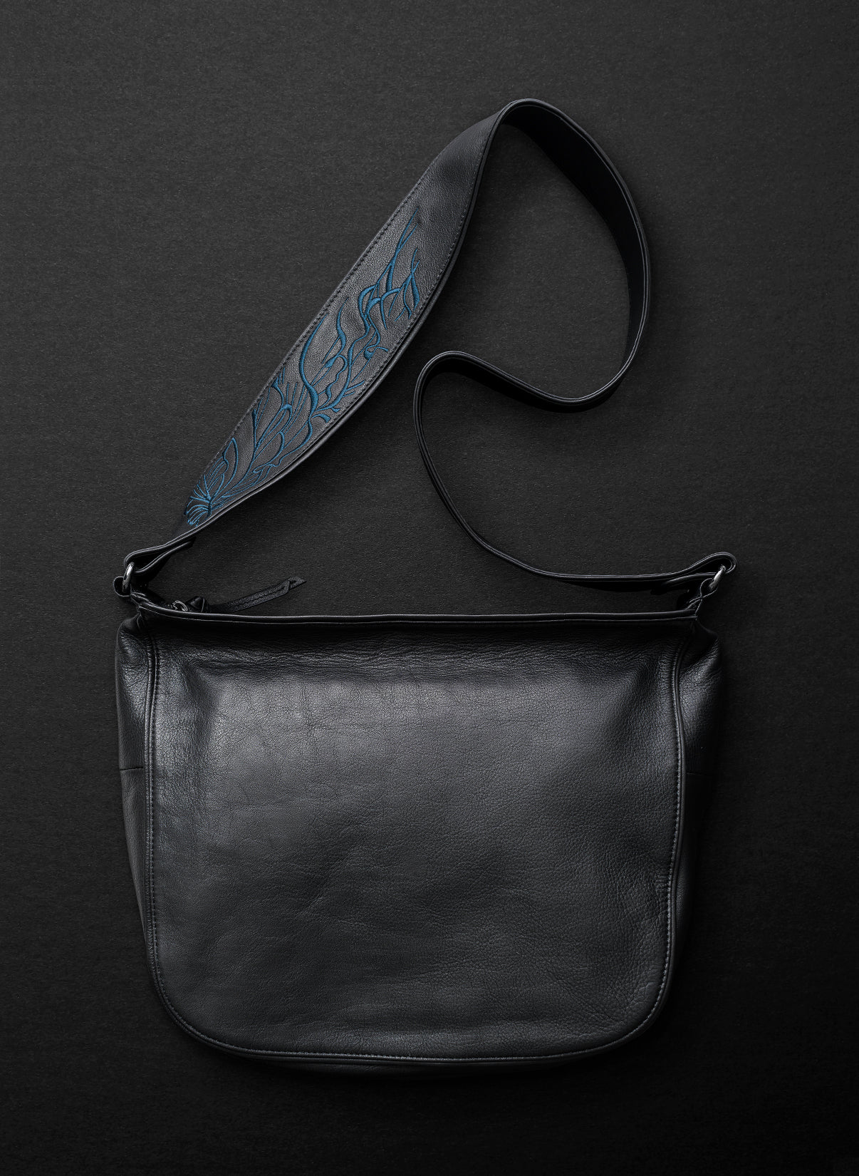 Nouveau Large Satchel - Licorice